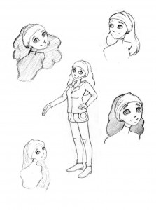 Lucy-sketches